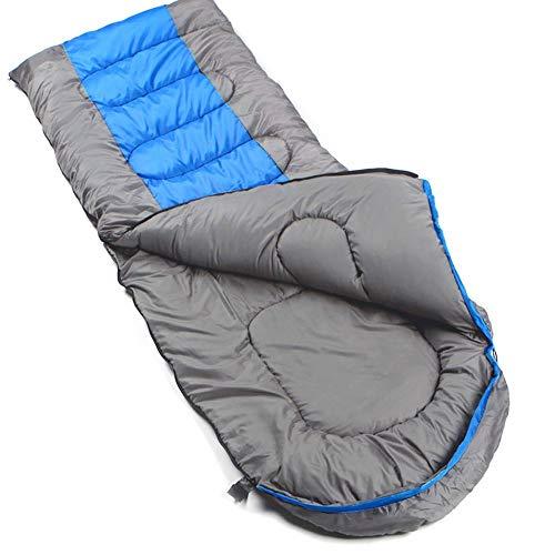KACT Saco de Dormir liviano con Bolsa de compresión, Compacto a Prueba de Agua y cómodo for Adolescentes Adultos, 4 Temporadas de Viaje, Camping, excursiones