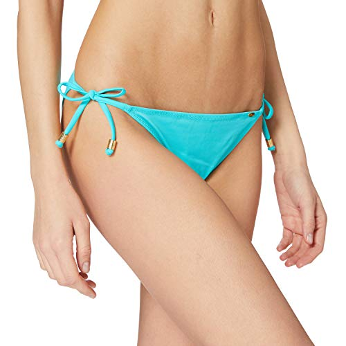 Skiny Damen Bikinihosen Ocean Love Brasiliano, Gr. 38, Türkis (caribi 5874)