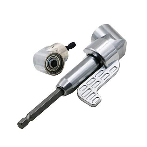 ELECTRONIC-MEI 105 graden rechter hoek boren uitbreiding schacht verandering driver boren schroevendraaier magnetische 1/4 Hex Socket sluiten hoek gereedschap Hot