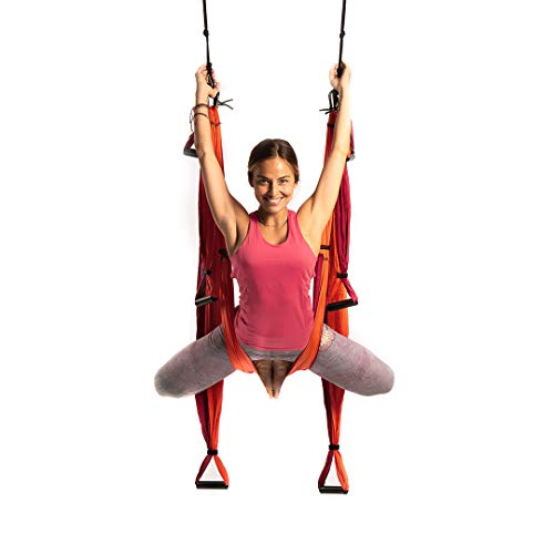 Best Deals! YOGABODY Yoga Trapeze (Official), Orange - Yoga Inversion Swing