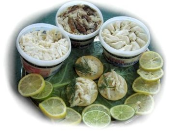 Charleston Seafood Jumbo Lump Crabmeat, 32-Ounce Box