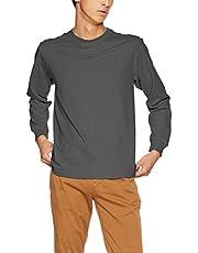 [ヘインズ] ビーフィー ロングスリーブ Tシャツ H5186 メンズ