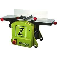 Zipper HB204 cepilladora eléctrica 1250 W 8500 RPM Verde - Lijadora (210 mm, 737 mm, 26 kg, Corriente alterna)