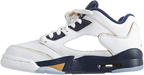 NIKE Air basket Jordan 5 recto low - Chaussures - Homme - Blanc 38.5