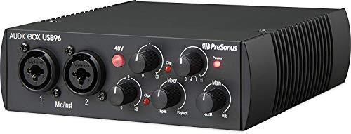 PreSonus AudioBox USB 96 - Edizione del 25 ° Anniversario Interfaccia Audio con Software