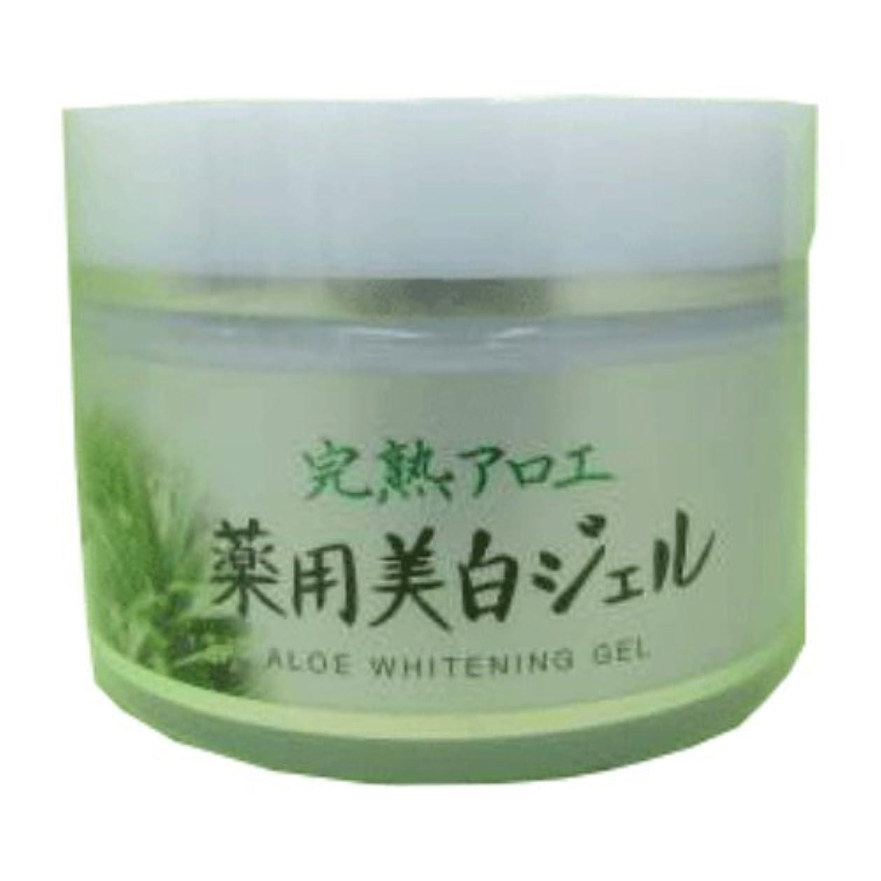 十分ですより平らな洗剤完熟アロエ 薬用美白ジェル 100g 医薬部外品