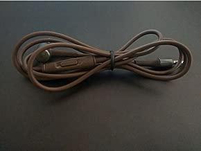 Meijunter Headphones Replacement Remote Control Caebl Cord Line Lead Wire for Audio Technica ATH-MSR7