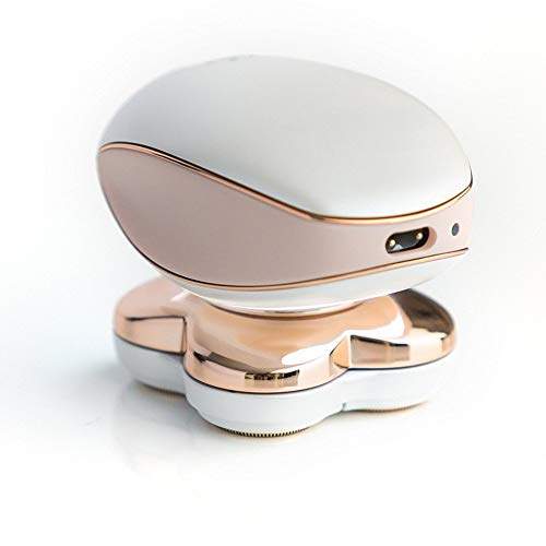 Jambes démaquillant, jambes indolore Hair Remover-4 en 1 sans fil Dame/dames rasoir avec USB rechargeable pour les femmes du visage et des jambes, indolore et portable