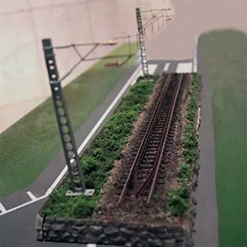 ECLENYES オンラインショッピング NEW 35 x 9cm 1:87 HO Scale Track Rai Model Table Train Sand