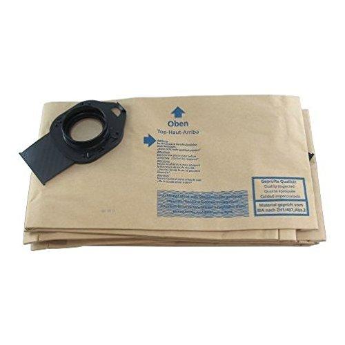 Wap 10 Gallon SQ10/SQ4 Vacuum Filter Bags (Pack of 5)