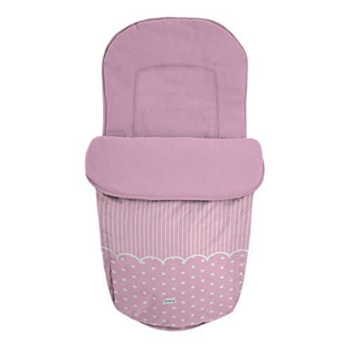 Baby Star 25479 – Sac pour siège universelle, couleur ROSE
