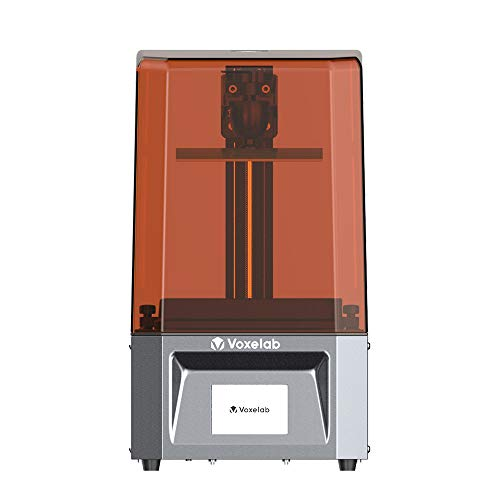 Voxelab Proxima 6.0 3D Printer UV Photocuring Resin 3D Printer Assembled with 2K Monochrome Screen Full Grayscale Anti-aliasing Off-line Print 13cm(L) x 8.2cm(W) x 15.5cm(H) Printing Size (Proxima)