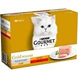 Purina Gourmet Gold Mousse Pack 12x85 Gr