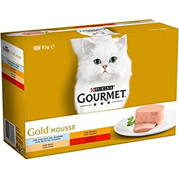 Purina Gourmet Gold Mousse, Paquets Assortis