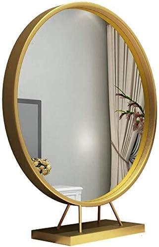KXA Elegant Iron Single-Sided Round European Desktop SALENEW very popular Makeup Mirror Bedro