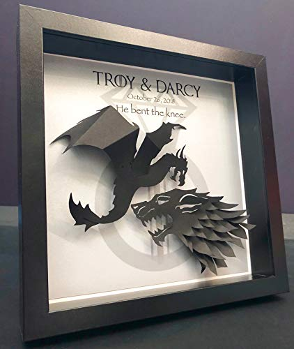Origami Game of Thrones Shadow Box