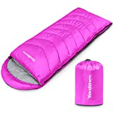 Yordawn Sleeping Bags for Adults Kids, Warm Cold Weather Camping Sleeping Bag Backpacking Hiking...
