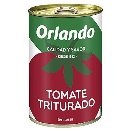Orlando - Tomate Natural Triturado, Lata 400 g