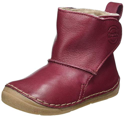 Froddo Jungen Kinder G2160057 Unisex-Child Ankle Boot, Bordeaux, 23 EU