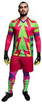 Brody Jorge Campos Goalkeeper Set Jersey and Shorts  Youth Large