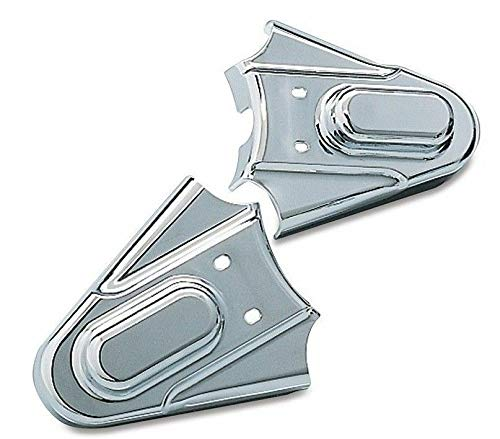 RPM Compatible with Kuryakyn 8200 Compatible with Chrome Phantom Swingarm Axle Covers Compatible with Harley Softail