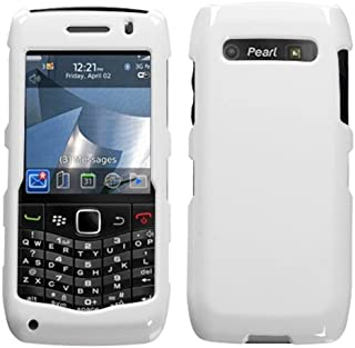 MyBat Blackberry 9100 Solid Phone Protector Cover - Retail Packaging - White