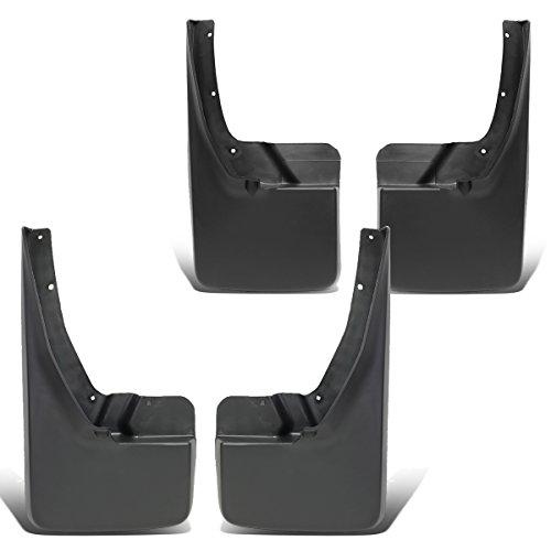Replacement for Dodge Ram Truck 4Pcs Front+Rear Wheel Mud Guard Splash Flaps Kit
