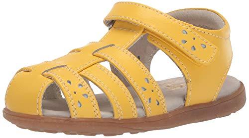 See Kai Run Girl's Gloria IV Fisherman Sandal, Yellow, 9.5 M US Little Kid