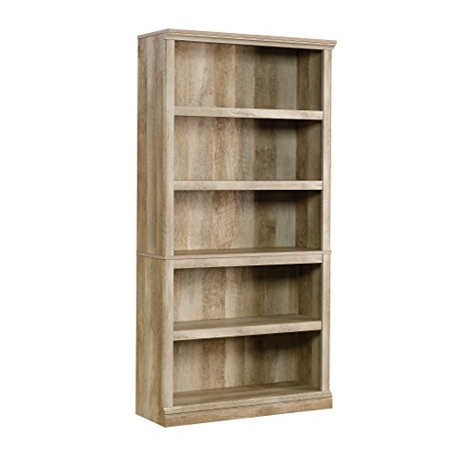 Sauder Select Collection 5-Shelf Bookcase, Lintel Oak finish