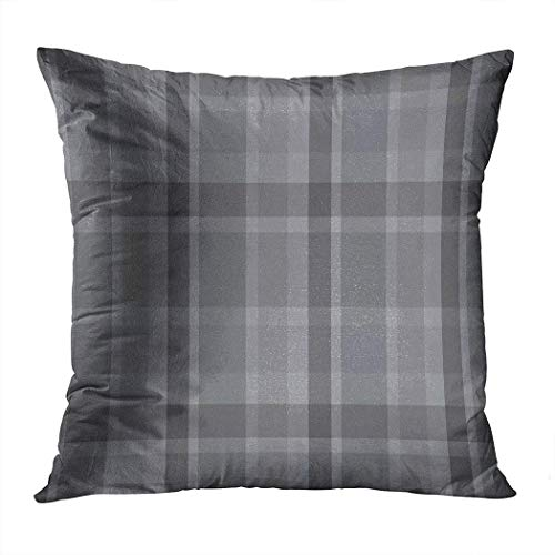Pamela Hill Throw Pillow Decor Square 20 x 20 Inch Buffalo Plaid Tartan Scotland Funda de cojín Decorativa súper Suave