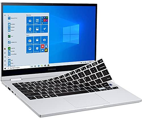 Keyboard Cover for Samsung Galaxy Book Flex Alpha 2-in-1 13.3' Touchscreen NP730QCJ-K01US K02US K03US, Galaxy Book Flex 13.3' NP930QCG-K01US, Galaxy Book Ion 13.3' NP930XCJ-K01US K02US K03US, Black