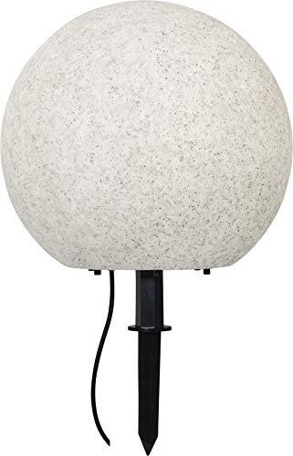 Star Gardenlight - Bola decorativa (plástico, 38 x 40 cm), color gris...