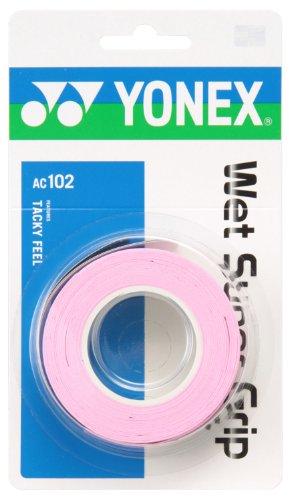 ヨネックス テニス グリップテープ ウェット スーパーグリップ AC102 フレンチピンク 128)