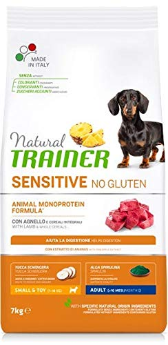 Trainer Natural Sensitive No Gluten Mini Adult Agnello 7 kg