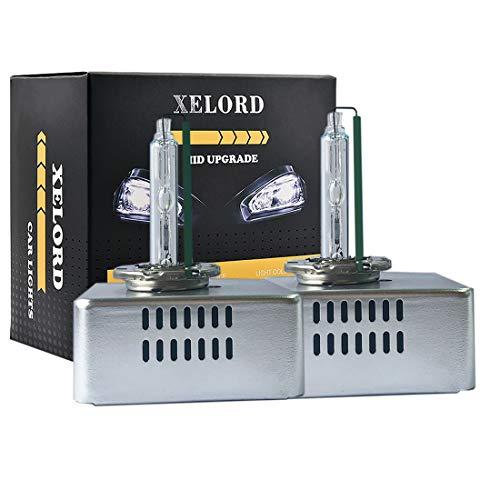 XELORD D5S Xenon Brenner 6000K Hid Scheinwerferlampe 12V (2 Lampen)