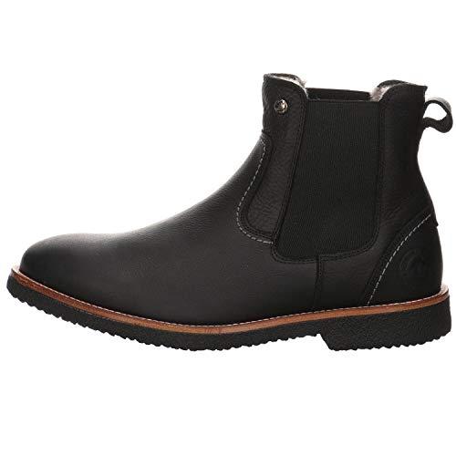 Panama Jack Herren Garnock Igloo Chelsea-Stiefel, Black C002, 41 EU