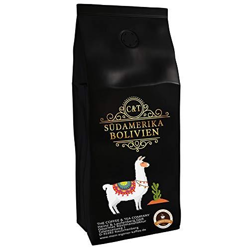Kaffeespezialität Aus Südamerika - Bolivien, Hochlandkaffee Aus Der Nähe Der Anden (Ganze Bohne,1000 Gramm) - Länderkaffee - Spitzenkaffee - Säurearm - Schonend Und Frisch Geröstet