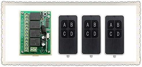 Davitu Remote Controls - JRLKEJEE 4CH DC12V It is very popular Wireless RF C Industry No. 1