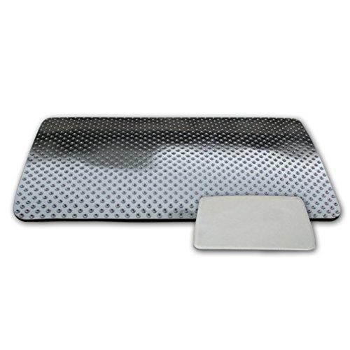 GY-honeq Grande Taille Anti-dérapant Pad Voiture,Antidérapant résistant à la Chaleur Car Silicone Tableau de Bord/Bureau Sticky Mat Anti Slip Mat Tapis adhésif(767676-D