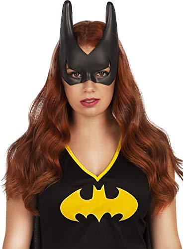 Funidelia | Batgirl Maske OFFIZIELLE für Damen ▶ Barbara Gordon, Superhelden, DC Comics - Schwarz, Zubehör für Kostüm