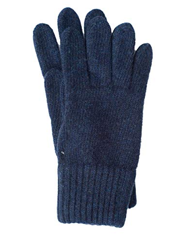 FosterNatur, Kinder Finger Handschuhe/Strickhandschuhe/Wollhandschuhe, 100% Wolle (Merino) (2, Cosmos)