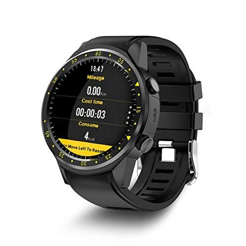 #N/V F1 Sport-Smartwatch mit GPS-Kamera-Unterstützung, Stoppuhr, Smartwatch, SIM-Karte, Armbanduhr für Android iOS Handy