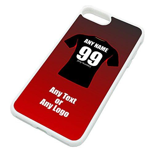 UNIGIFT gepersonaliseerd cadeau - Dewsbury Rams iPhone hoesje (Rugby League Design kleur) - Naam/boodschap op uw unieke mok - Club