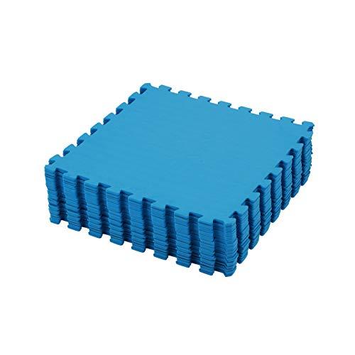 DHOUTDOORS 32X Eva Puzzle Matte aus Schaum Bodenschutzmatte Puzzlematte Schutzmatten für Pool Puzzlematten Trainingsmatten Pilatesmatten für Fitnessgeräte