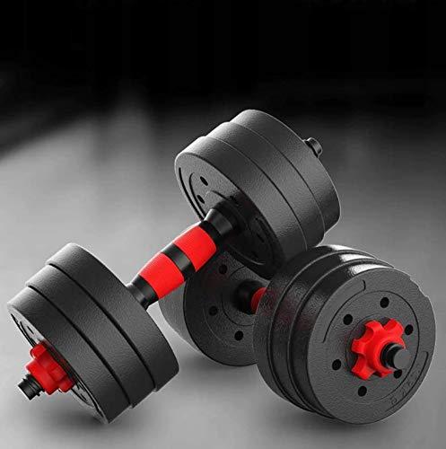 Hanteln 2 in 1 Set | Hanteln & Langhanteln | 20 kg Hanteln für Männer und Frauen | Verstellbare Hanteln für das Training zu Hause | Gewicht 20 kg