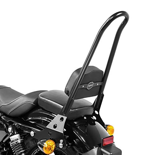 Negro Almencla Motocicleta Sissy Bar Maletero Para Sportster 48 72 883 1200
