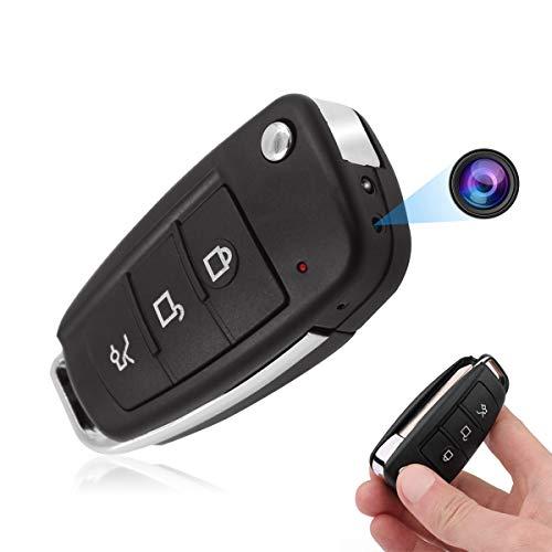 Jiyibidi Cámara espía con detección de movimiento, 1080P HD Mini cámara de vigilancia oculta Nanny pequeña cámara de carga USB, cámara de vigilancia de detección de movimiento
