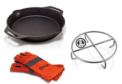 Set Petromax Feuerpfanne fp30h + Handschuhe + Untersetzer