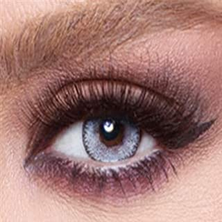 Bella Cosmetic Contact Lenses Glow, Color - Luminous Pearl, Power - Plano