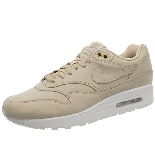 Nike WMNS Air Max 1 Premium 454746 207 Damen Sneakers/Freizeitschuhe/Low-Top Sneakers Beige 40,5